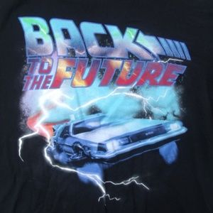 21MEN Back to the Future Lightning Car Big Kids